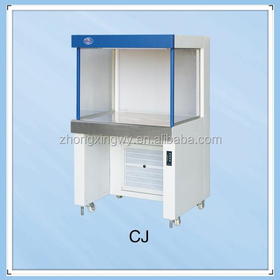 Supply ce iso vertical type laminar airflow working clean bench on sale