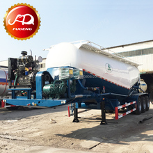 2017 Chinese used cement bulkers semi trailer,bulk powder tank trailer with cheap price