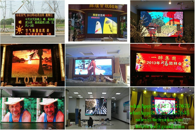 P12 LED outdoor display LED Panel P8