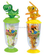 Plastic Candy Cup in Bulk-Dinosaur Toys