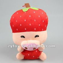 stuffed plush toy fruit with mcdull