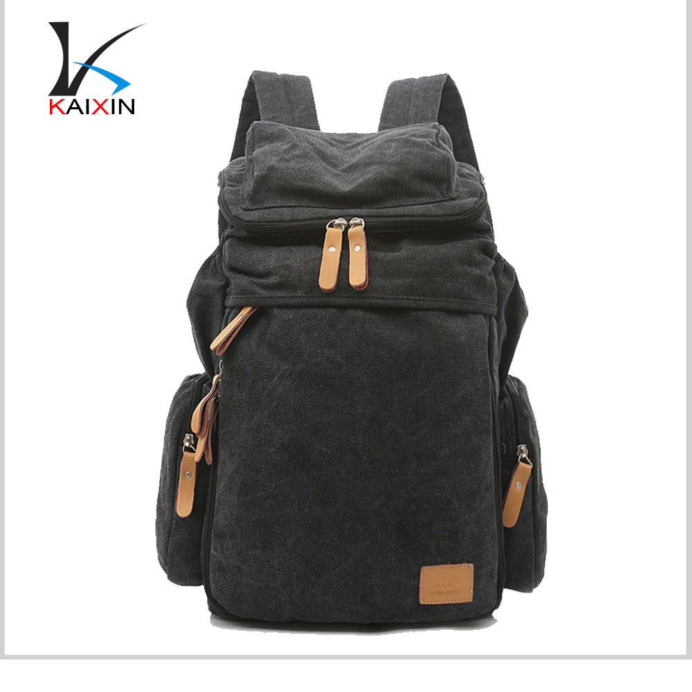 Wholesale Vintage Canvas backpack, Durable Canvas Travel Backpack