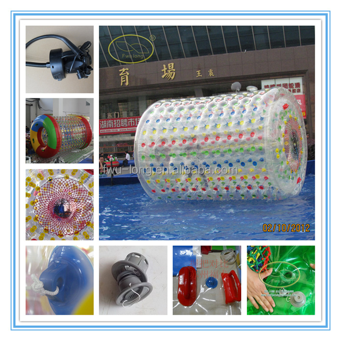 PVC snow ball/snow game water roller zhu zhu pets