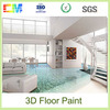 Factory wholesale hot product clear epoxy paint 3D epoxy floor coating