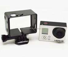 Sport Outdoor Camera Extend Frame For LCD with Assorted Mounting Hardware Go Pro Accessories