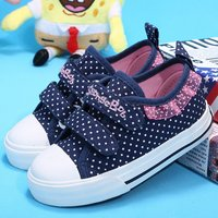 WV44 china customized impeccable kids fashion canvas small boy shoes
