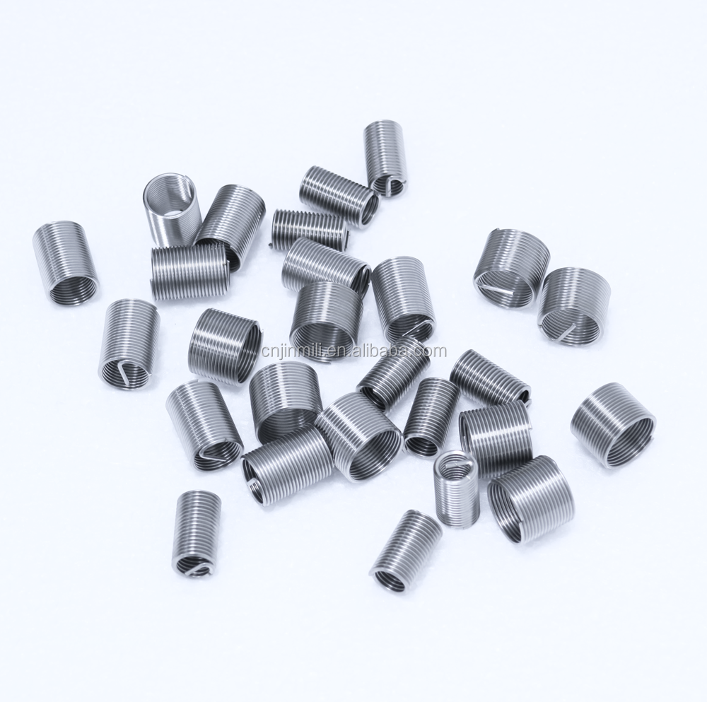 High Quality 304 Stainless Steel Wire Threaded Inserts M8*1.25*1D 1000pcs