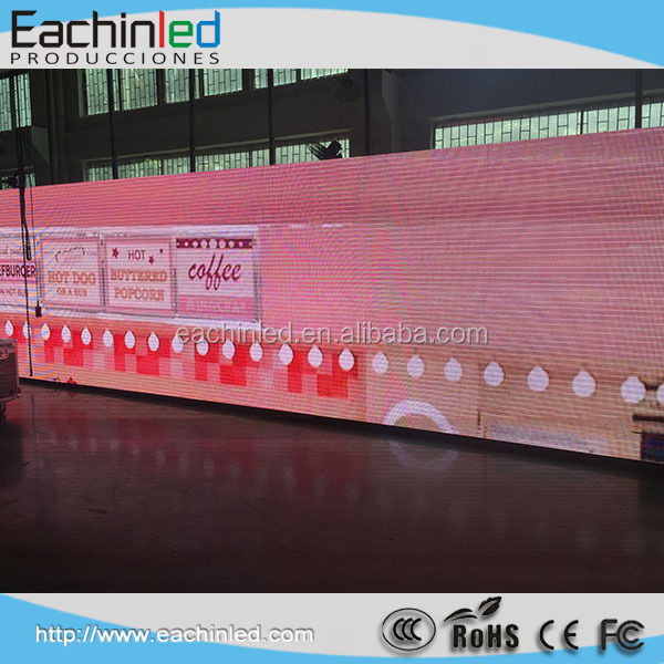 Shenzhen hot selling p6 outdoor full color 6mm led display advertising screen