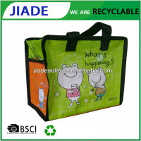 Lamination pp non woven promotion bag/PP cute non woven shopping bag/Shopping bag reusable