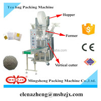High grade JX002 Automatic small sachet Tea bag packing machine with tag