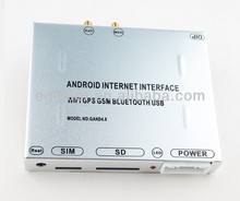 car video interface android 4.0 GPS navigation WIFI GSM