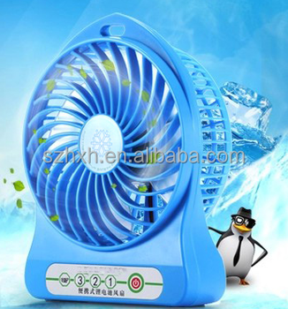 2016 Hot Sale high performance DC 5V portable mini fan rechargeable usb fan