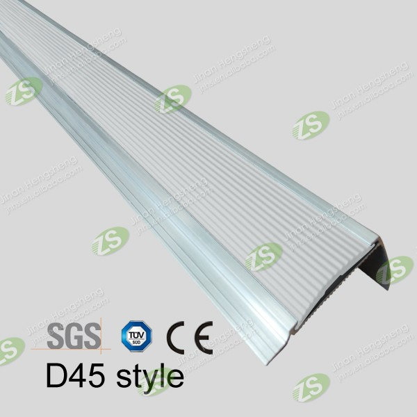 Most Popular Safety Anti-slip Metal Stair Nosing For Sale