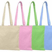wholesale standard size cotton tote bag