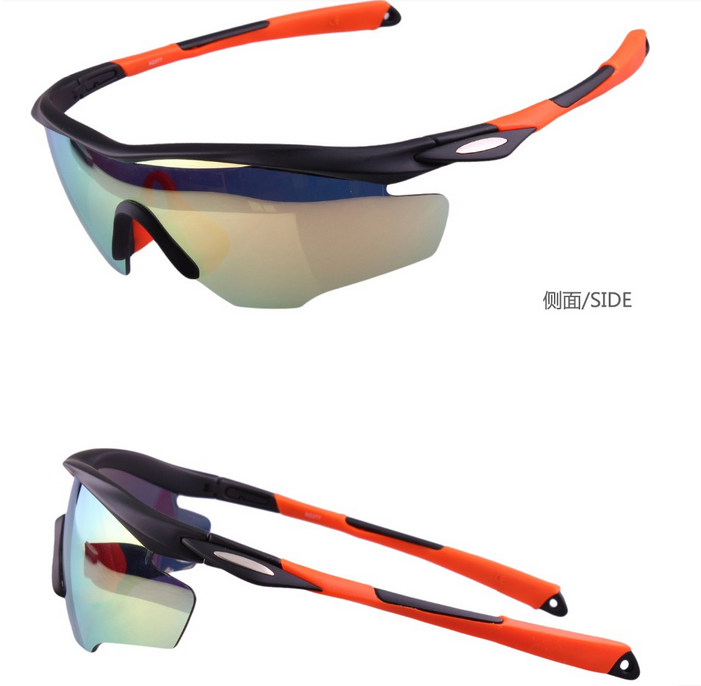 2018 sport sunglasses with perfect structure HD vision coating lenses PC/TR90frame