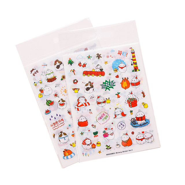 Clear PVC Stickers Page, Stickers Sheet