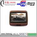 9 Inches HD Digital TFT Screen Leather Car Headrest DVD Player with HDMI