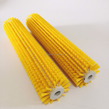 Cylinder rotary nylon industrial roller cleaning vegetable fruit brush