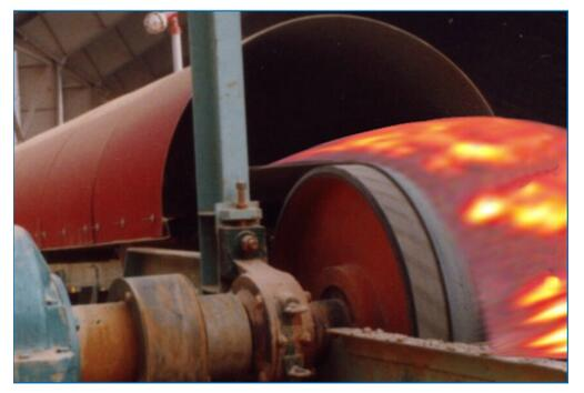 Fire-Resistant Conveyor Belts Coal Mine, Thermal Power Plant, Coking, Iron and Steel Plant etc. Where Flame-Resistant and Explos