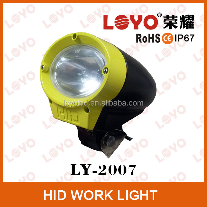 "Wholesale price 6"" spot beam car 35/55w hid work lights SXS IP67/outdoor atv suv/hid working lamp"
