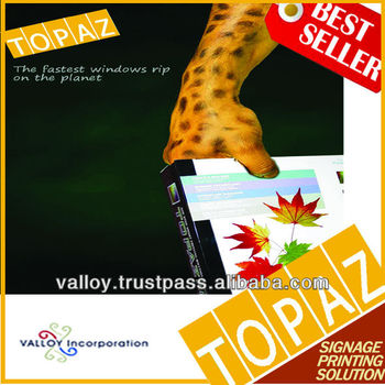 Korea TOPAZ Rip software for large format digital printing