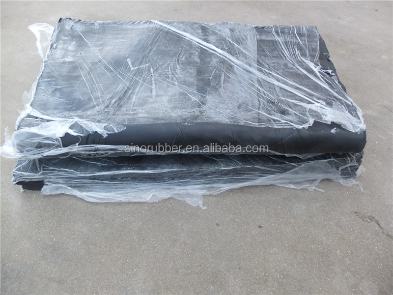 SINO Manufacturer Recycling Epdm Rubber Sheet For Roofing
