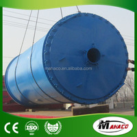 Highest benefit waste tire pyrolysis plant to get crude oil for sale