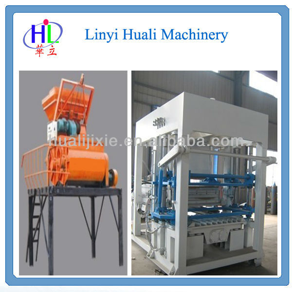 QT4-15B Advanced German technology cement block making machine