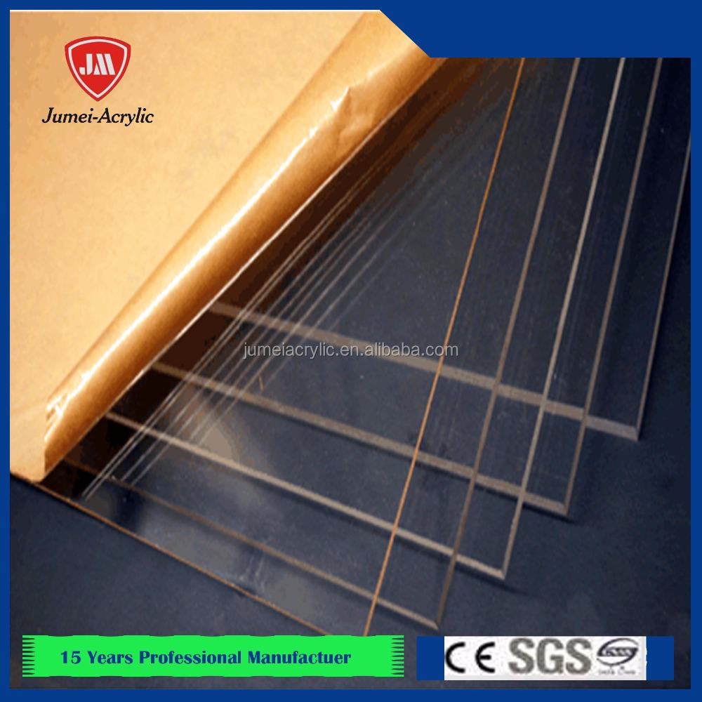 100% High quality material clear cast acrylic sheets excellent board