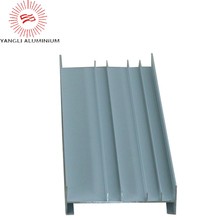 High quality 6000 series silver aluminum profile for window