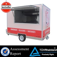 CE used fast food equipment food frozen machine vending food warmer truck
