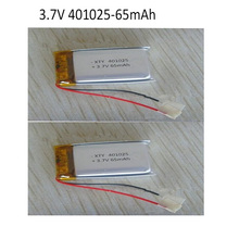 3.7V 65mAh polymer lithium battery rechargeable polymer batterirs