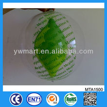 Fashion hot sale small inflatable clear plastic ball