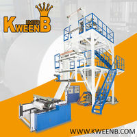 KweenB - Blowing film machine - DL Series - Two Layers Co-extrusion Film Blown Line