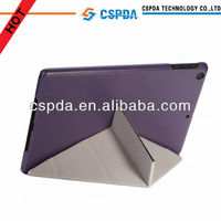 Fashion design ultra-thin folios leather case cover for iPad 5