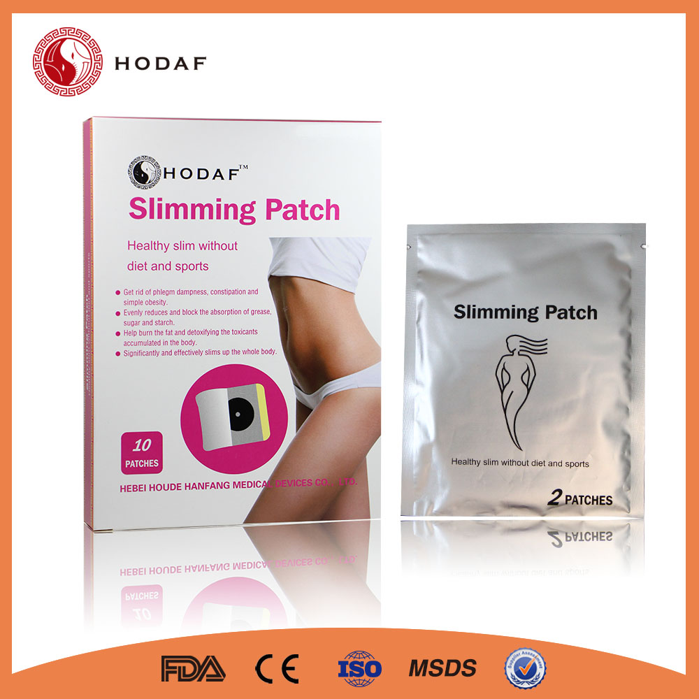 Best sell relaxed health care natural herbal burned fat slim patch for lose weight