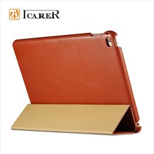 High Quality Side Open Leather Smart Case For iPad Air 2