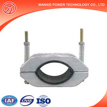 Wanxie JGH high voltage electric cable cleat metal wire clamp clip