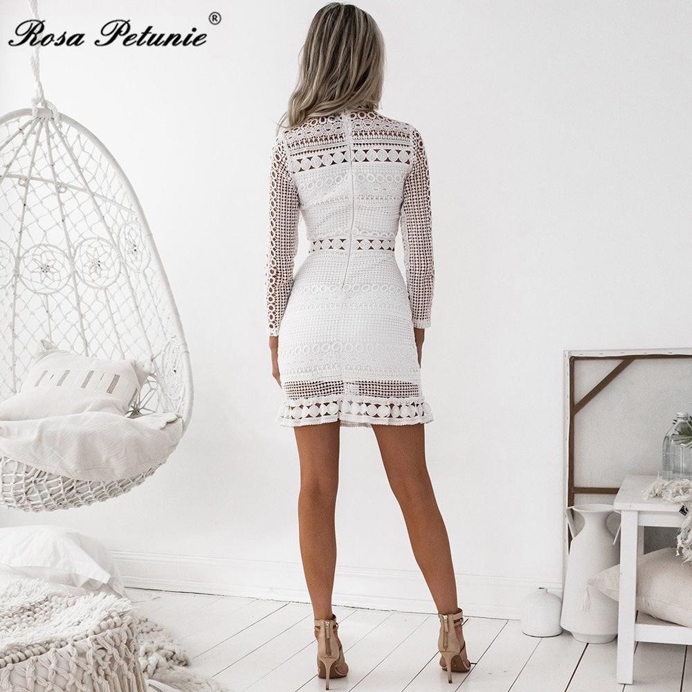 HTB1vxQ5fTnI8KJjSszgq6A8ApXaA - Winter 2018 New Sexy White Lace Dress Women's High Quality long Sleeve Embroidery Cutout Elegant Dress Hollow Out Vestidos