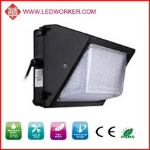 Montion sensor sensitive up and down wall light led , 60W SMD3030 dlc led wall pack IP54 led wall pack cool ,/warm white