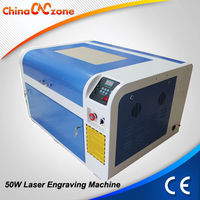 50W CO2 Granite Stone Laser Engraving Machine