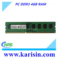 Original and Major chips desktop ddr3 4gb RAM with fast delivery
