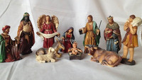 Jesus family figure toys manufacturers, oem resin Jesus figurine toys maker, resin figurine