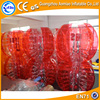 Factory direct wholesale bubble ball for football/inflatable zorb ball, cheap soccer balls sale for fun