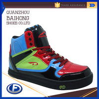 colorful durable custom men fashion shoe