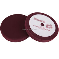 8inch Maroon Compounding Pad Car Foam Polishing Pads Buffing Pad
