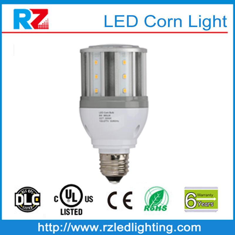 2016 DLC Qualified Corn Cob Style LED Retrofit Bulbs 8W-120W fin heatsink warehouse LED light bulb