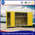 China hotel office kiosk plant glass durable portable tiny villa cheap wood shipping container export small mobile homes