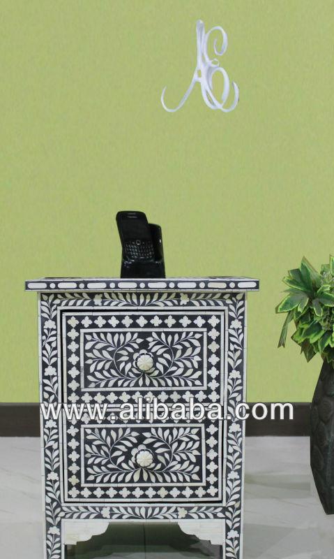 knocheninlay m bel knocheninlay krankenbett tisch nachttisch produkt id 111981257. Black Bedroom Furniture Sets. Home Design Ideas