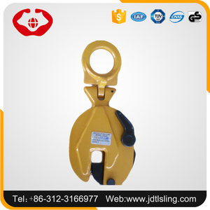Professional TL rigging style vertical pipe steel plate lifting clamp with forged model